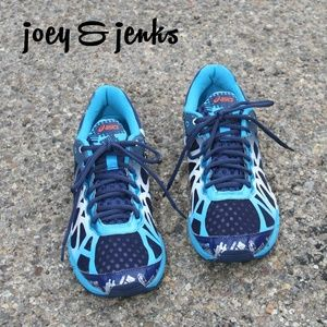 Mens Asics Blue Gel Noosa Tri 9 Running Shoes 10.5